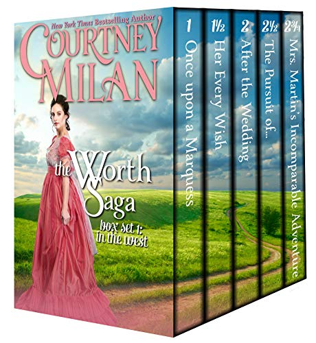The Worth Saga Box Set 1: In the West Courtney Milan