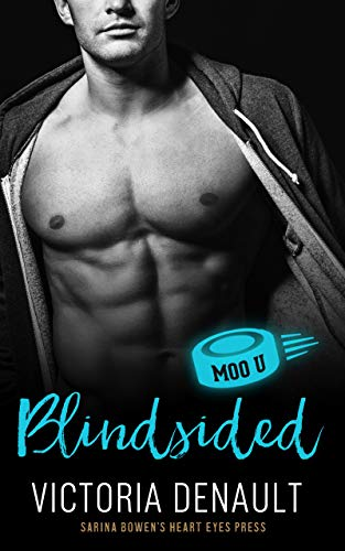 Blindsided: A Moo U Hockey Romance Victoria Denault and Heart Eyes Press