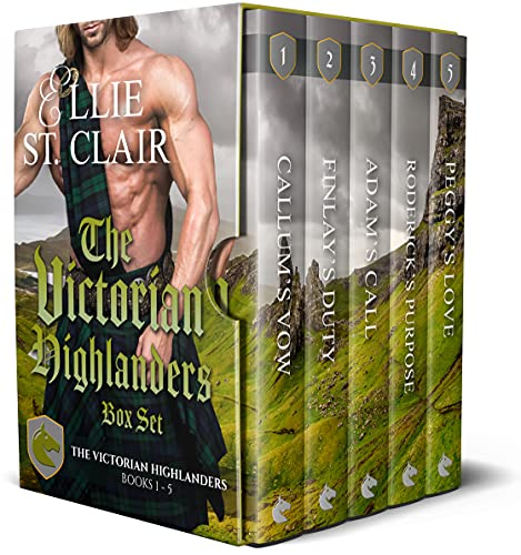 The Victorian Highlanders Box Set: Scottish Victorian Historical Romances Ellie St. Clair