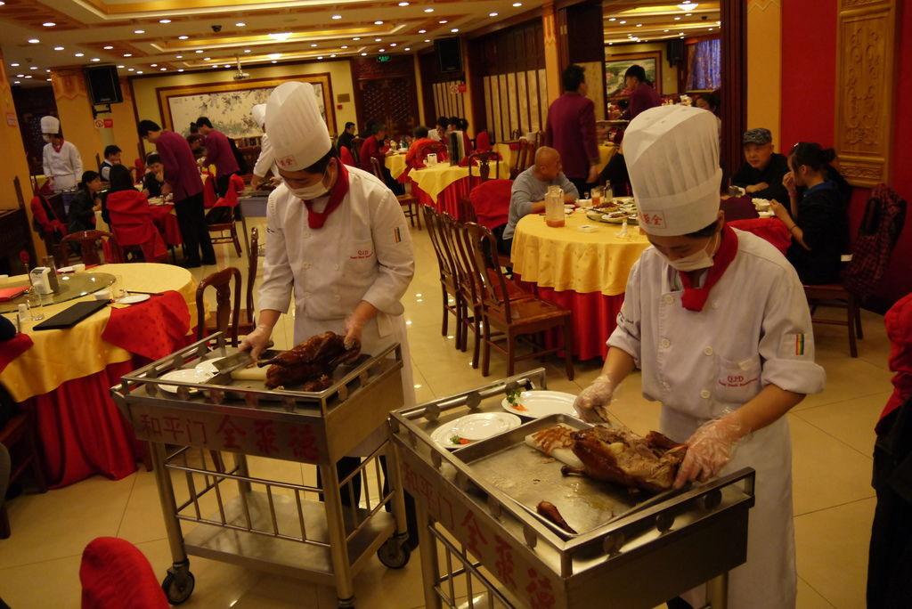 北京烤鴨 - 美食之旅