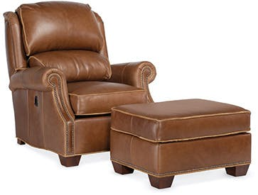 reclining club chair boss ntr executive leatherplus leather chairs recling bradington young stationary luxury tilt back
