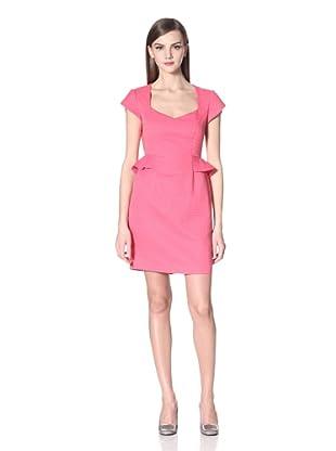 Donna Morgan Women's Raina Cap Sleeve Dress (Rose)