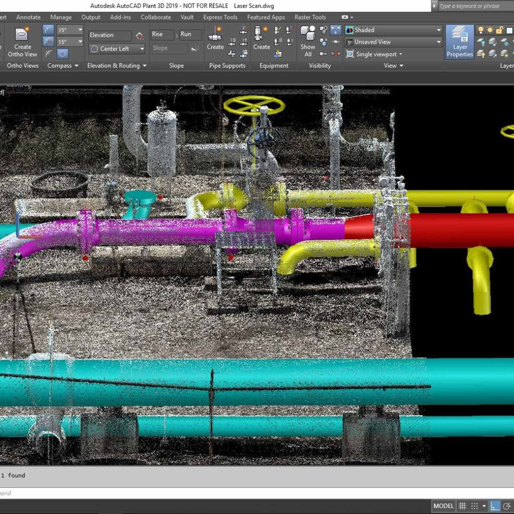 Point cloud to 3D in action