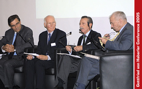 Panel discussion, Chairman Giselher Guttmann