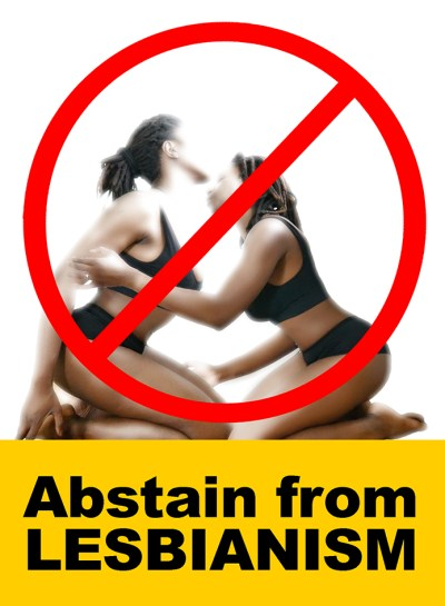 eca eps abstain from lesbianism