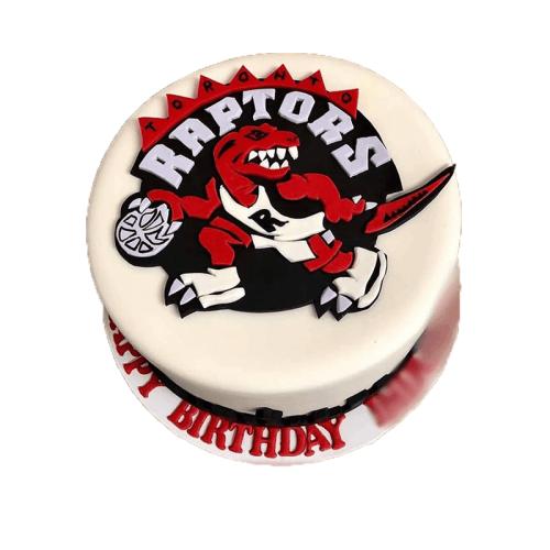 Raptor Red Velvet Cake