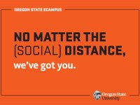 No matter the (social) distance, we've got you.