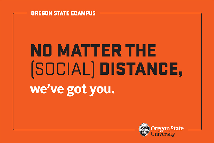 No matter the (social) distance, we've got you.