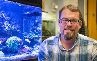 Oregon State biology instructor Andrew Bouwma