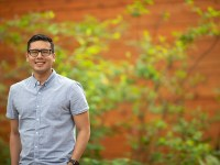 Eddie Rodriguez, student success coach for Oregon State University Ecampus
