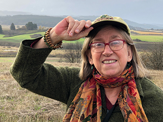 Holly Campbell is a researcher and instructor in Oregon State's Department of Fisheries and Wildlife, and she uses an open textbook in her marine law course.