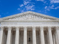 A photo of the facade of the U.S. Supreme Court building. Open educational resources