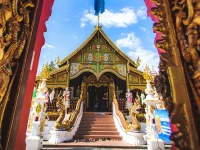 A Buddhist temple, part of the focus of Oregon State's religious studies online degree program.