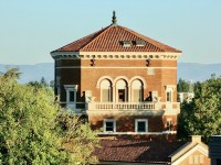 Photo of the Weatherford Hall building on the Oregon State University campus in Corvallis, Oregon