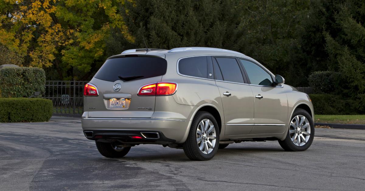 2015 Buick Enclave Silver