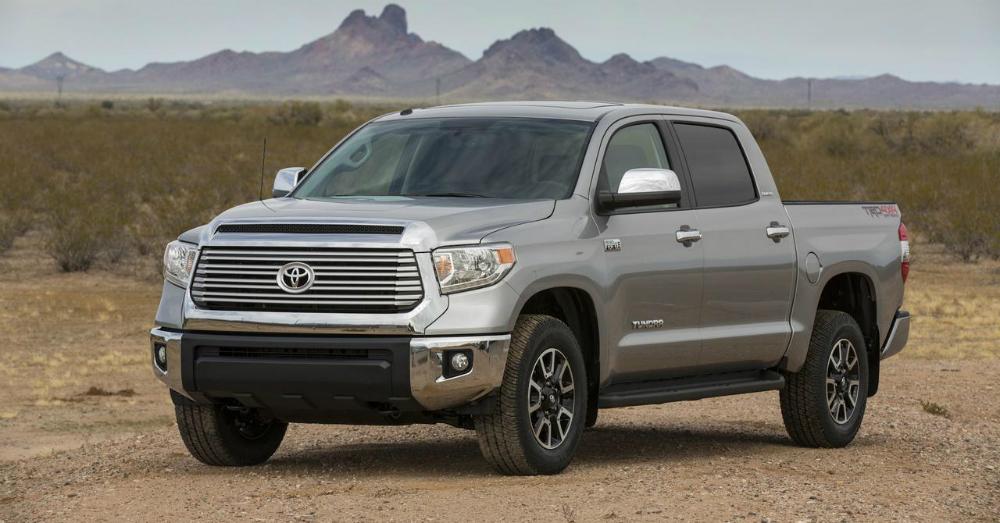 2015 Toyota Tundra Grey