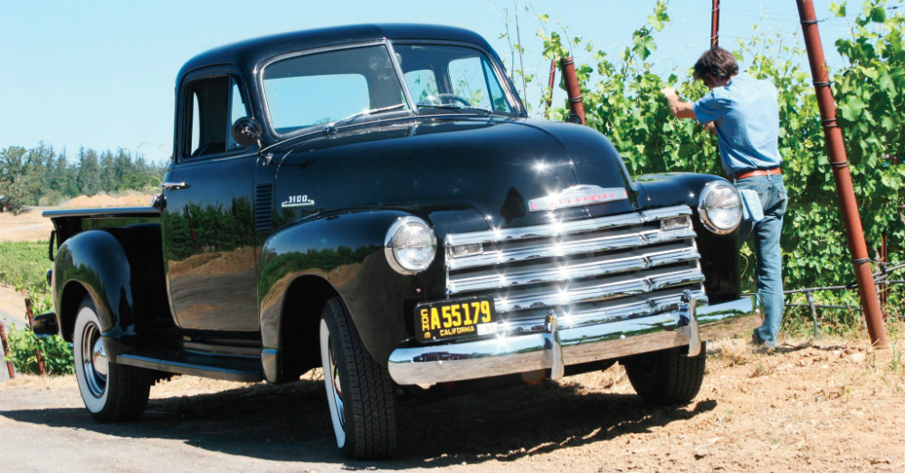 12.26.15 - 1953 Chevrolet Pickup Truck