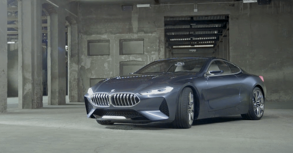 The next large BMW, the upcoming 8 Series.