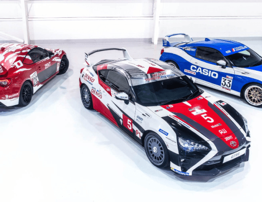 The Toyota 86 has a lot Going on at Le Mans