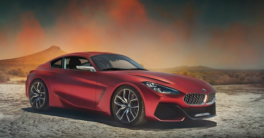 Getting a Better Look at the New BMW Z4