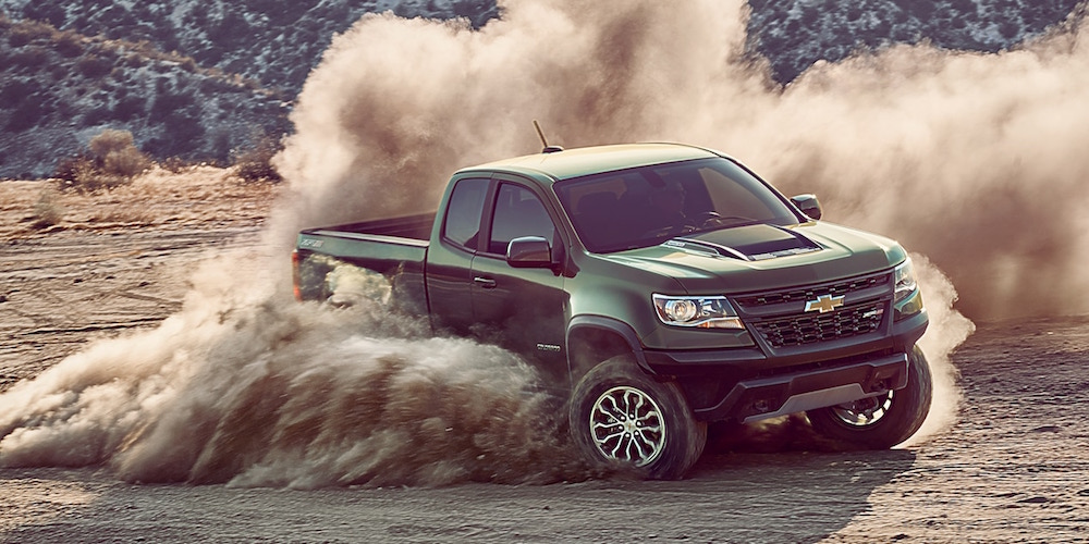 The Chevrolet Colorado Offers You More Off-Road Performance
