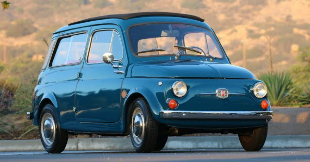 A Classic Fiat Goes Electric