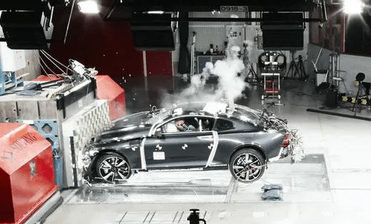 Crash Testing Success for The Volvo Polestar