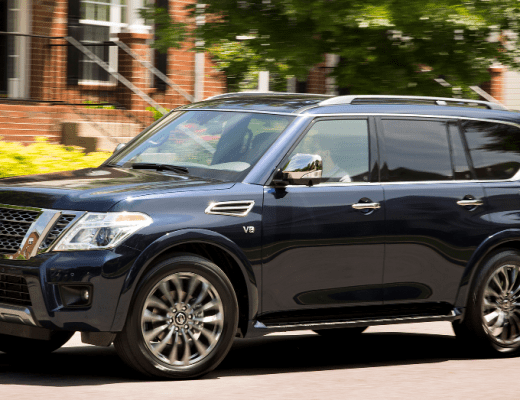 2020 Nissan Armada: Large Smooth Luxury Driving
