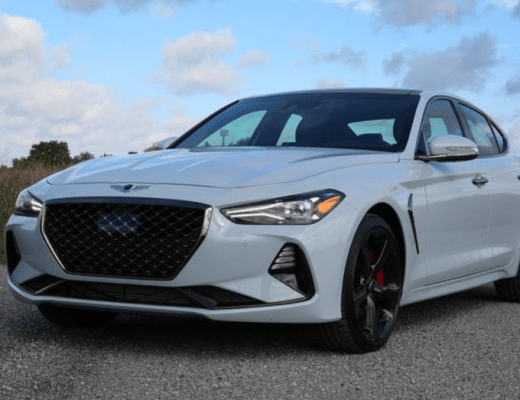 Upgraded Genesis Styling Makes it to the G70