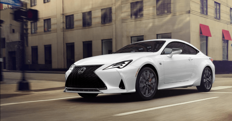 Lexus RC- The Best AWD Coupes on the Market Today for Greater Control over the Road