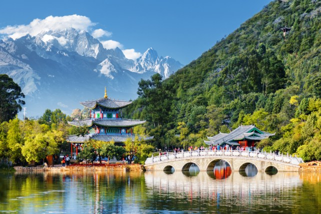 Jade Dragon Snow Mountain & Black Dragon Pool Lijiang, Yunnan