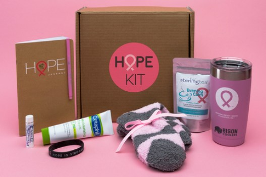 National Breast Cancer Foundation Hope Kit Care Package