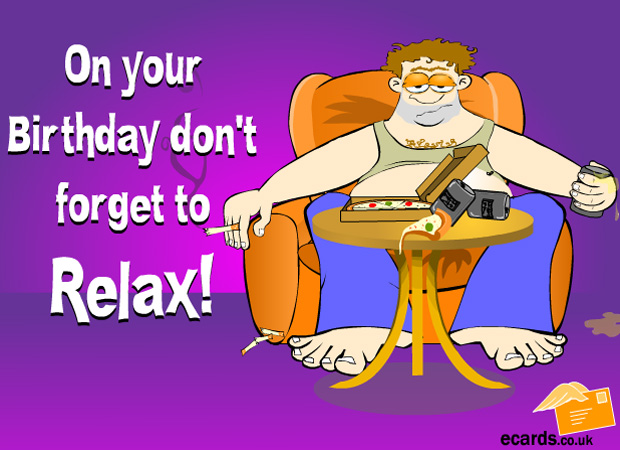 ECards Have A Relaxing Birthday