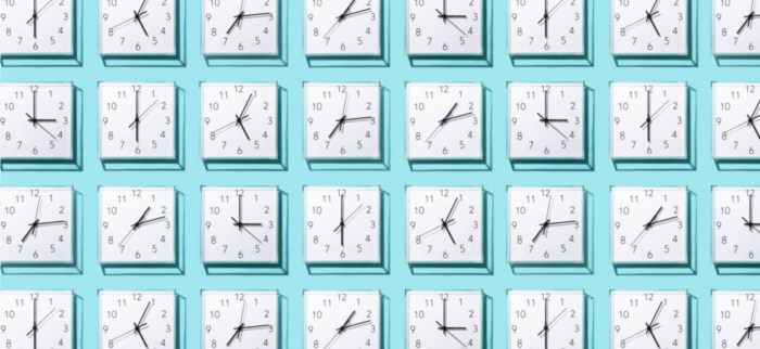 This picture shows a wall full of clocks set to different times. It represents the section of our website where you can find our hours. Below that is the Calendly page where you can check and book tiem directly on my calendar,