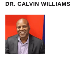 Image of Dr. Calvin Williams smiling at the camera. Dr. Calvin Williams is the author of the guest posting, Professional Networking.