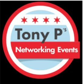 This is the logo of Tony P's Networking Events (and is owned by the same organization).  We are pleased to appear in the current edition of the AppointmentsIQ newsletter!
