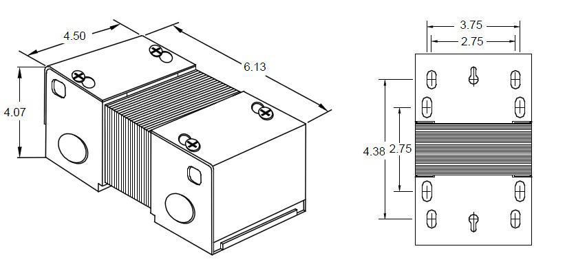 MARCUS TRANSFORMER MC250K Isolation Control Transformer