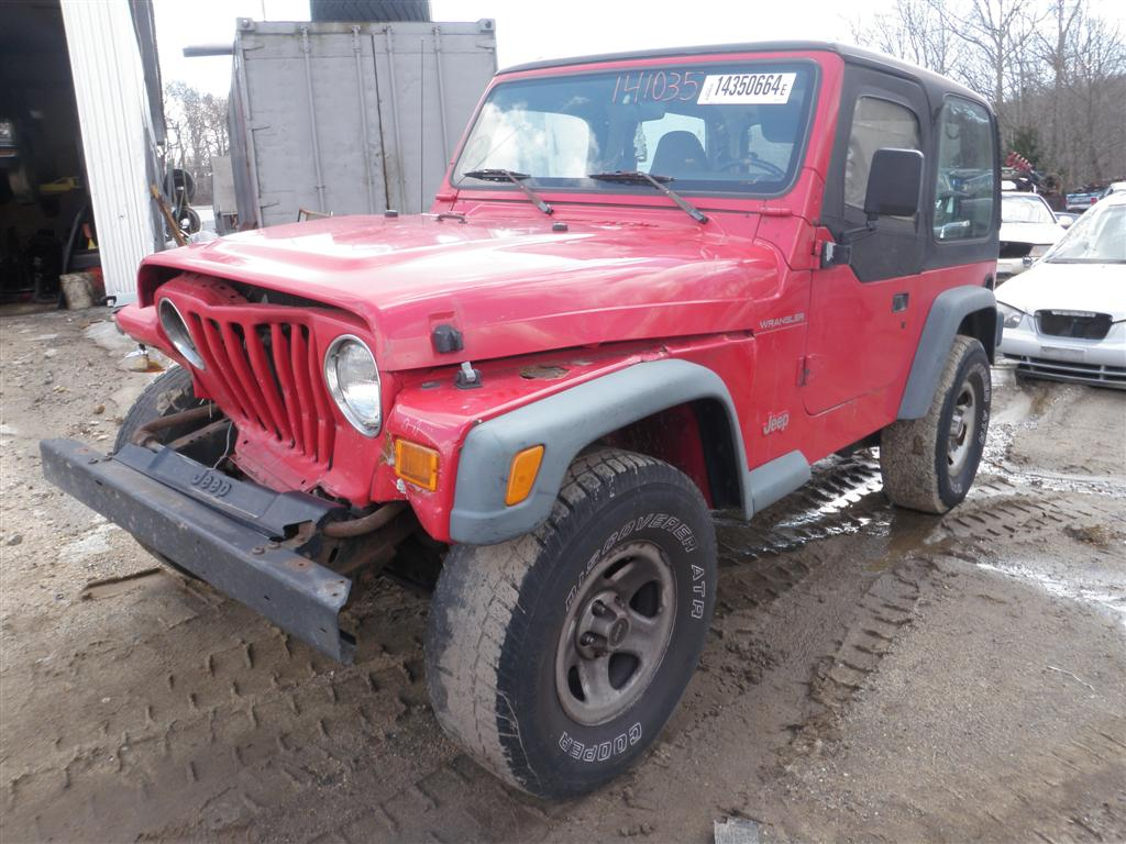 1997 Jeep Wrangler Se Quality Tested Oem Replacement Parts
