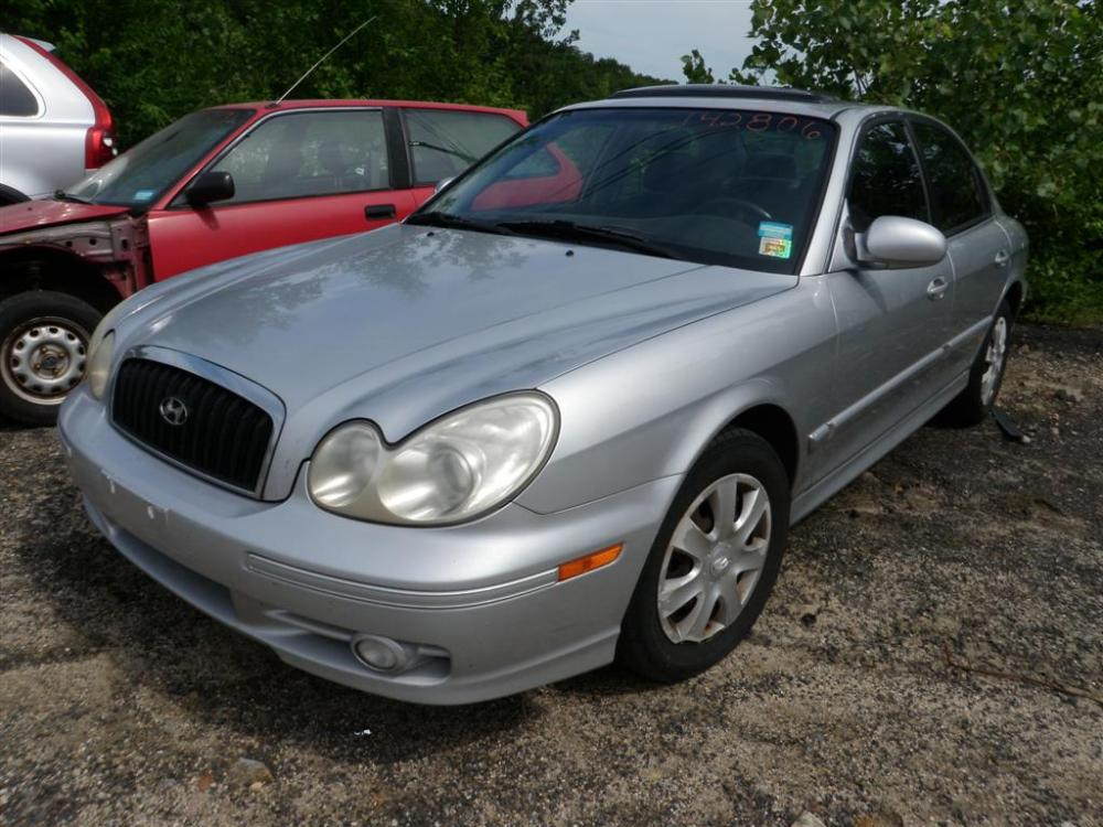 medium resolution of this hyundai sonata has a 2 7l v6 dohc 24v engine and a 4 speed automatic transmission if you need parts from this base model sonata or any other parts for