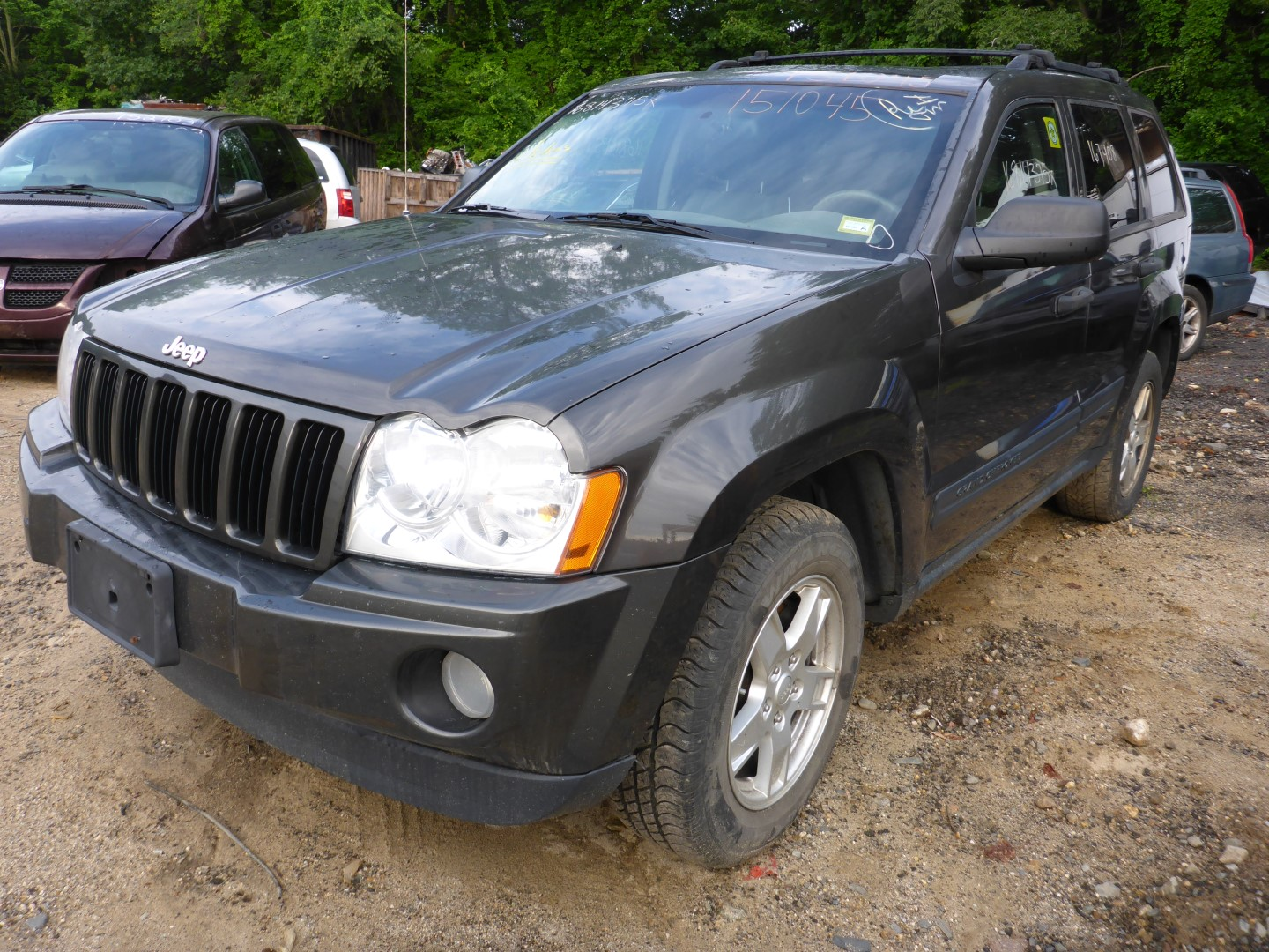 hight resolution of this jeep grand cherokee has a 3 7l v6 sohc 12v engine and a 5 speed automatic overdrive transmission if you need parts from this grand cherokee laredo 4wd