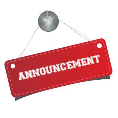 announcement 12 06 2015