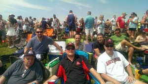 Our group event at the 2015 Indy 500. Joe Iannone, Corey D Roberts, Tom Lloyd, Ron McCleese, Greg Burns, Kyle Amore
