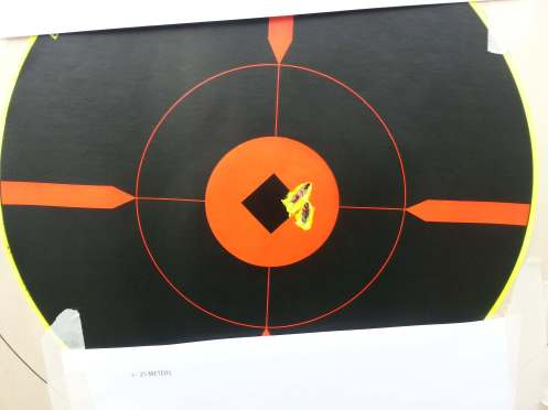 75gr Match out of a M16A1