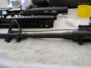 Replace FSP, Gas Tube and Flash Hider.