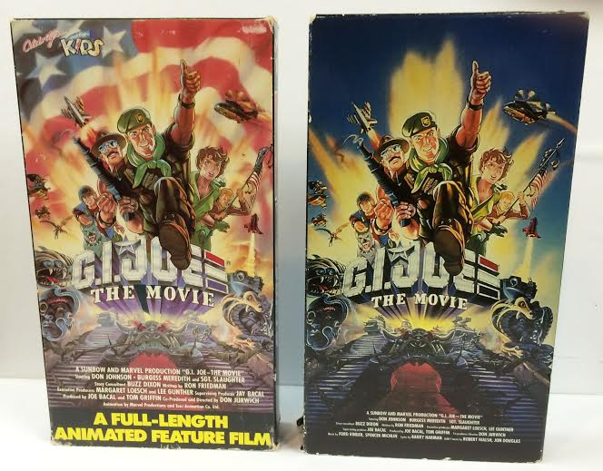 GI Joe The Movie Boxes 1
