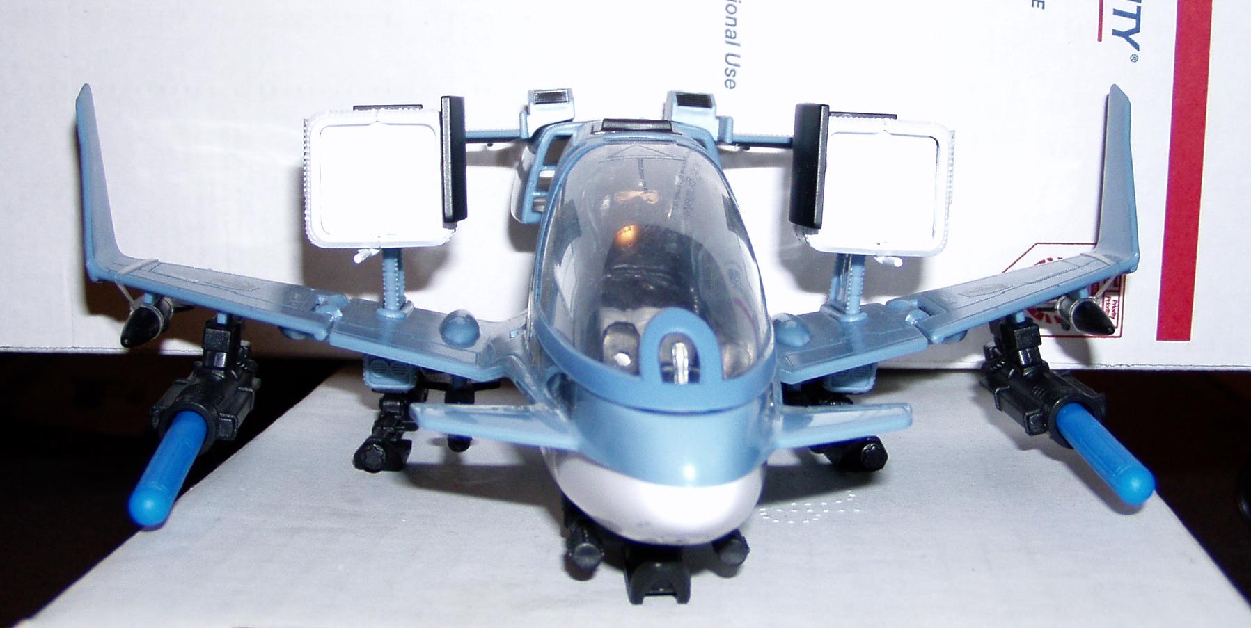 GI Joe Vehicle ROC SKY SWEEPER JET Missile Launcher 2009 Original Part