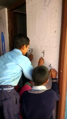 Students of Shree Jana Prabhat Secondary School