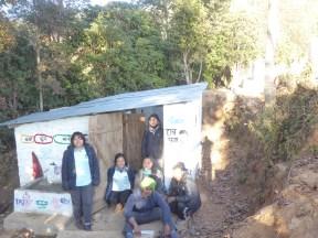 'The team' at Shree Naya Jyoti Primary School