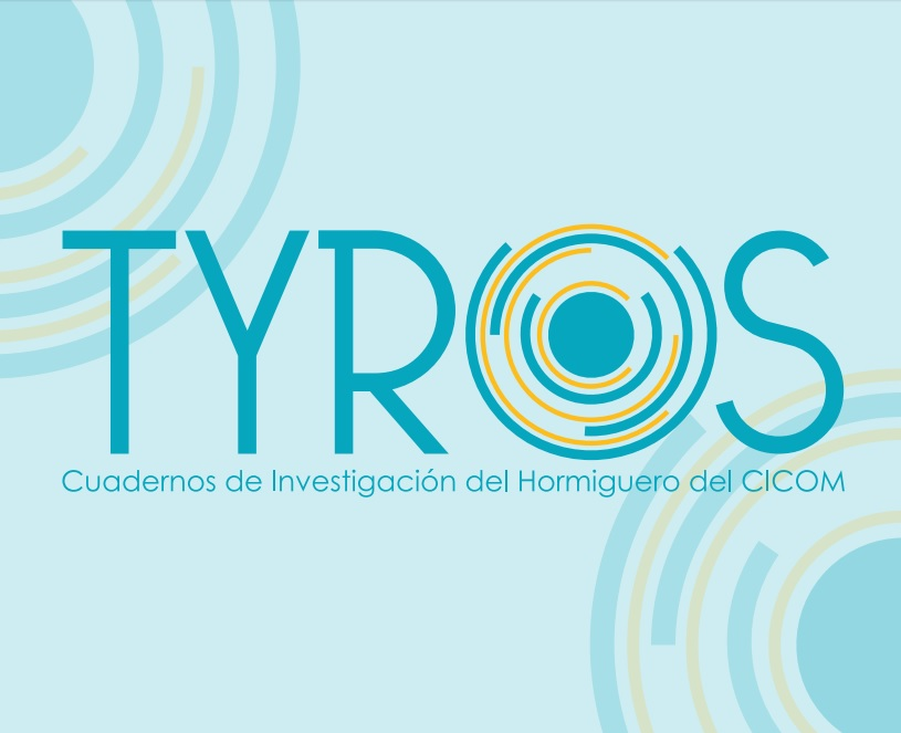 Tyros es una palabra en inglés proveniente del latín cuyo significado es iniciado, como quienes inician su camino en la investigación en Comunicación. De ahí que se haya elegido para estos cuadernos de investigación estudiantil.