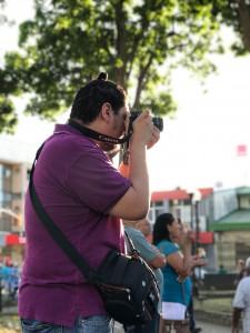 Joseph Osorio del curso de fotografía